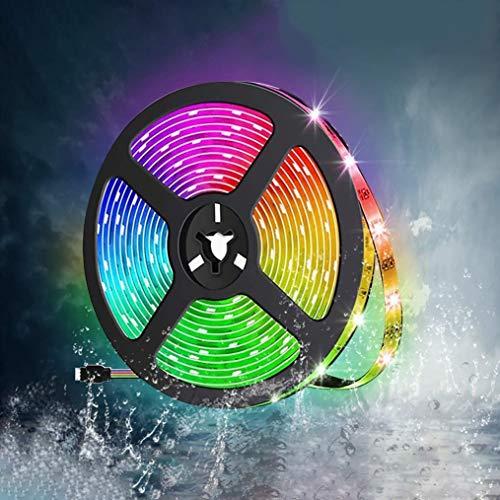 MINGRT MINGRT Tiras de led RGB 5050, Flexible Multicolor LED Tira LED,...