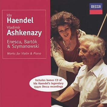 Enescu/Bartók/Szymanowski etc.: Works for Violin & Piano