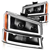 DWVO Projector Headlight Assembly Compatible...