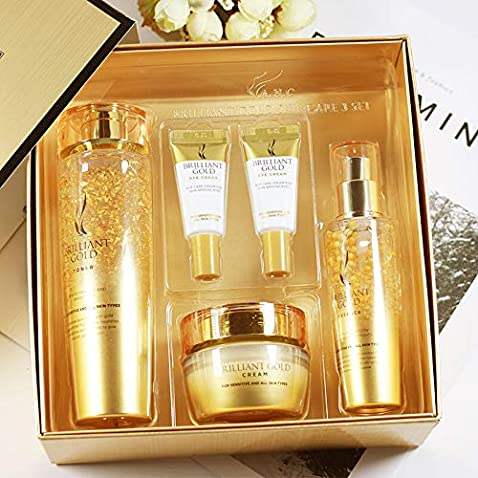 A.H.C Brilliant Gold Skin Care Set- Moisturizing Anti-Wrinkle