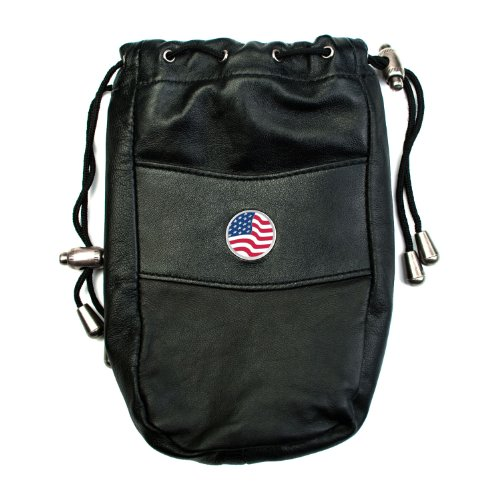 CMC Golf USA Designer Leather Valuables Pouch