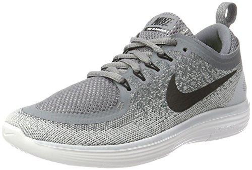 Nike Damen Free Rn Distance 2 Laufschuhe, Grau (Cool Grey/Wolf Grey/Stealth/Black), 36.5 EU