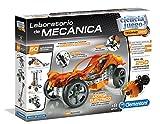 Clementoni-55125 - Mechanics - Laboratorio de Mecanica - juego de construcciones mecánica a partir de 8 años