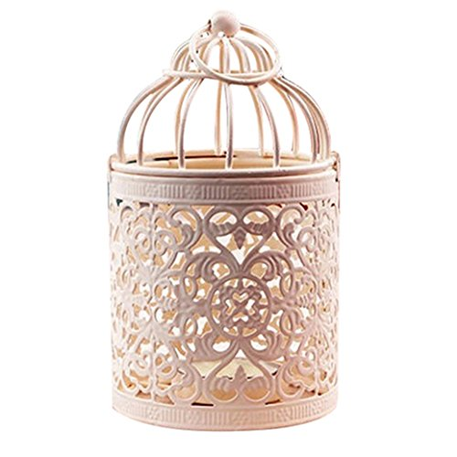 Price comparison product image Colorido Antique Moroccan Style Hollow Lantern Candle Holder Stand Home Decor Size 2 (2)