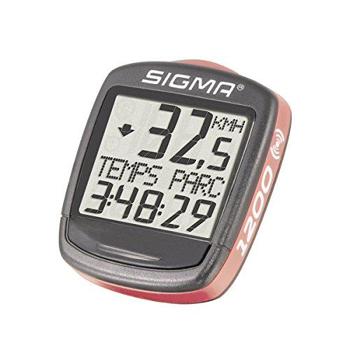 Sigma Elektro 01960 - Cuentakilómetros de ciclismo, 1200, Negro
