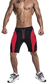 MAIKANONG Men's Outdoor Sports Shorts Quick Dry Gym Running Pants Zipper Pockets