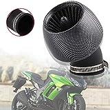 Filtro Aire Filtro Aire Conico Carburador limpiador Inducción de Kit Rendimiento filtro de aire Pit Bike plásticos