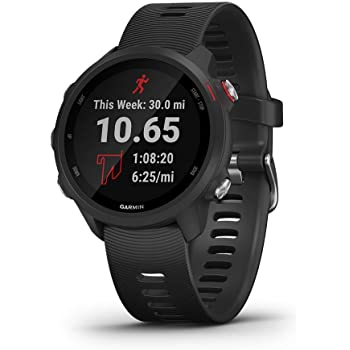 Garmin Forerunner 245 Music, GPS Running Smartwatch with Music and Advanced Dynamics, Black (Renewed)
