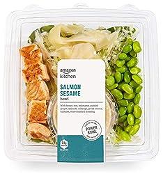 Amazon Kitchen, Salmon Sesame Bowl, 12.8 oz