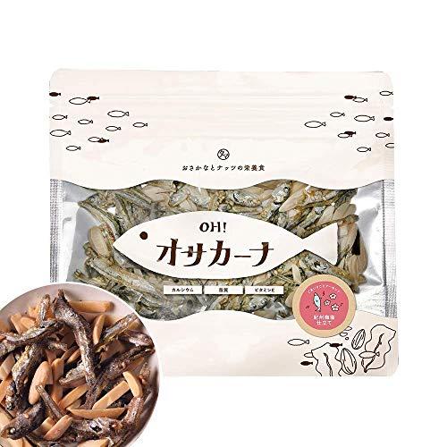 OH!オサカーナ100g(紀州梅塩仕立て)小魚 アーモンド #元気いただきますプロジェクト
