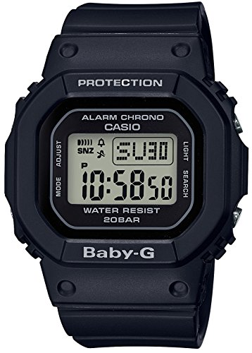 [カシオ] 腕時計 ベビージー BGD-560-1JF レディース ブラック