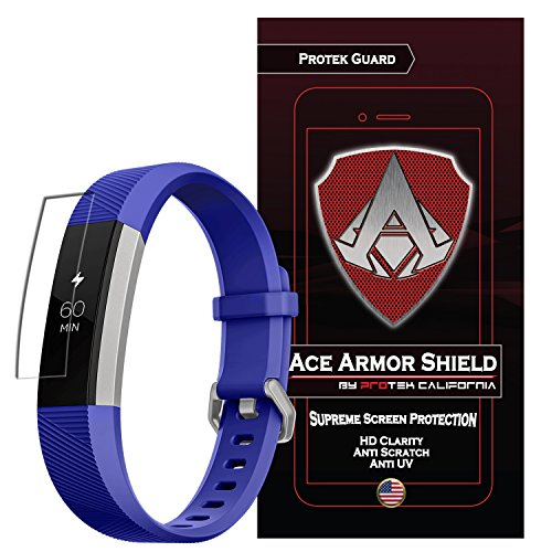 Ace Armorshield (6 Pack) Screen Protector Compatible for Fitbit Ace for Kids/Alta/Alta HR with Free Lifetime Replacement Warranty