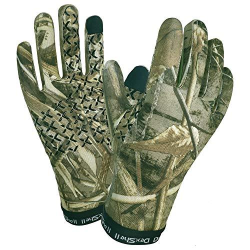 Dexshell Wasserdichte Herren-Handschuhe, Realtree Camouflage, Größe L/XL