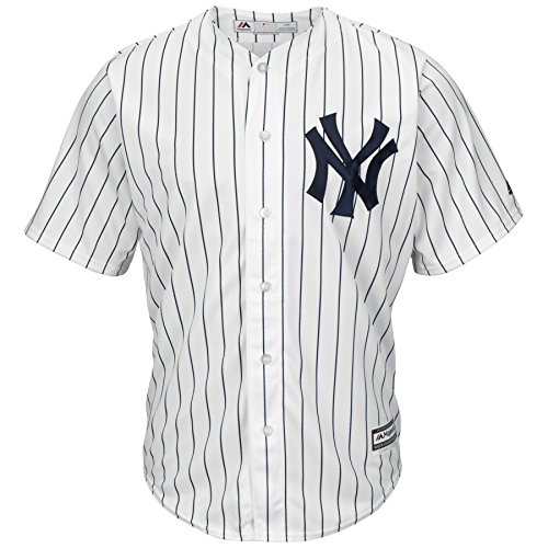 Majestic MLB Baseball Trikot Jersey New York NY Yankees Cool Base weiß (XL)