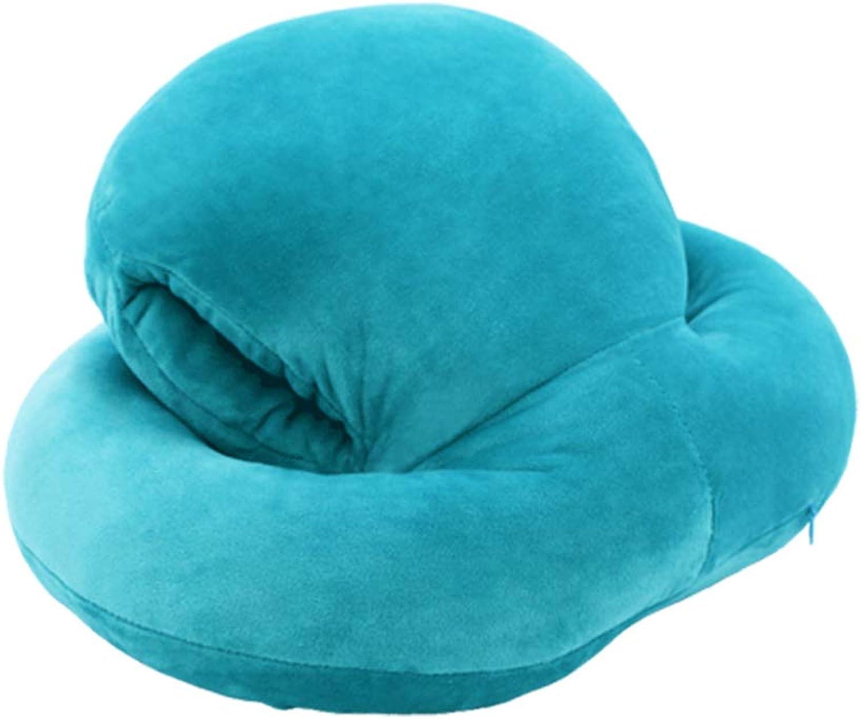 LAAN Nap Pillow Cute Cartoon Comfort Multicolor Lunch Break Plush Pillow 40cm33cm22cm