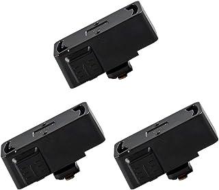 共同照明 3個入り 配線ダクトレール用プラグ 引掛けシーリング (GT-GD-ZB-3B) 簡単取付け スライドコンセント コード吊りペンダントライト シーリングライト コンセントレール ライティングバー 角型引掛けシーリングボディ ブラック