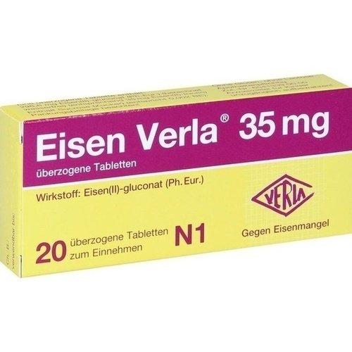 EISEN VERLA 35 mg überzogene Tabletten 20 St
