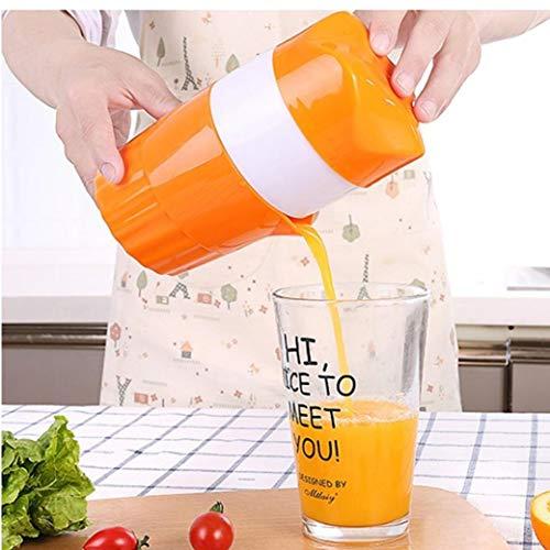 Zonster Lemon orange Entsafter Manuelle Zitruspresse für Obst Squeezer Original-Saft Beweglicher Haupt Küche Obst Entsafter,300ML