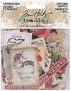 Tim Holtz Christmas Idea-Ology, Christmas Snippets