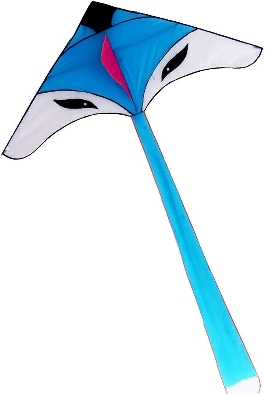 Kite Caixia Drachen, Cartoon Fox Drachen, Brise Brise Brise leicht zu fliegen Langschwanz Dreieck Drachen (Farbe   Large28cm Crystal Wheel) B07Q6CPKZC  Wirtschaftlich und praktisch 834bbd