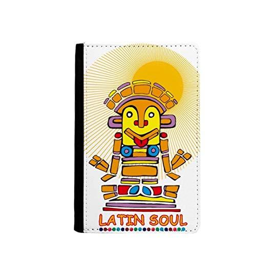 beatChong Das alte Ägypten Latin Soul Statue Muster-Pass-Halter Travel Wallet Abdeckungs-Fall Karten-Geldbeutel