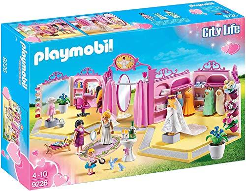 PLAYMOBIL City Life 9226 Brautmodengeschäft mit Salon, Ab 4 Jahren
