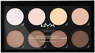 NYX PROFESSIONAL MAKEUP Highlight & Contour Pro Palette, 01