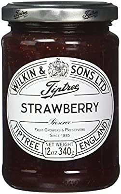 Tiptree Strawberry Preserve, 12 Ounce Jars (Pack of 6)