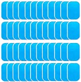 LEKEONE 50 Pcs/25 Packs Pads Abs Trainer Replacement Gel Sheet for EMS AB Trainer, Waist Trimmer Belt, ABS Toner Body Muscle Trainer.…