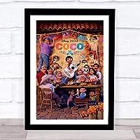 ファッション絵画ポスター - リメンバーミー COCO ディズニー - 壁掛け 壁飾り - 33x28cm(額縁を送る)