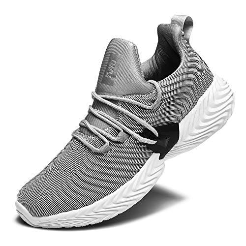 RELANCE Running Shoes for Men KX58 (9, Grey)