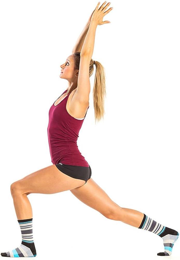 Barre Pilates Gym STOPSOCKS Non Slip Hospital Socks with Grips for Yoga