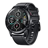 HONOR MagicWatch 2 Orologio Intelligente 46mm, 1,39'Display AMOLED, 14 Giorni Durata della Batteria, Monitor della frequenza cardiaca SPO2, Chiamata Bluetooth, 5ATM Impermeabile Smart Watch, Nero