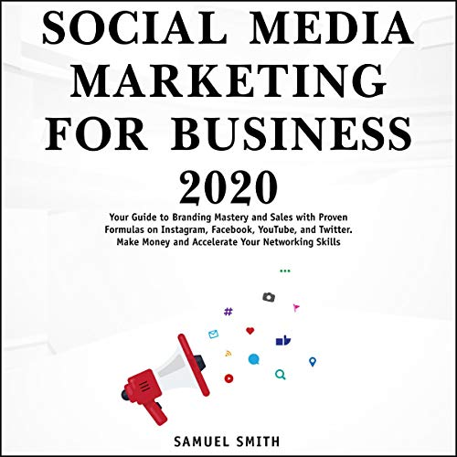 Couverture de Social Media Marketing for Business 2020