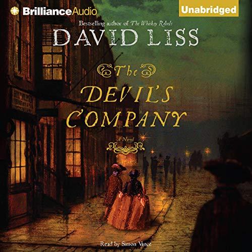 The Devil's Company audiobook cover art