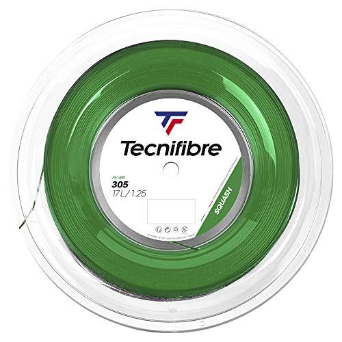 TecniFiber 305 - Cuerda de squash (200 m), color verde, 1.25mm