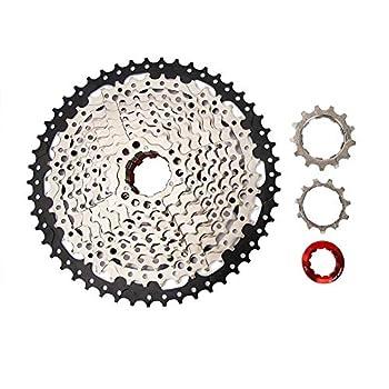 VGEBY1 Bike Cassette Freewheel,10 Speed 11-50T Mountain Bike Sprocket Replacement Bike Accessory