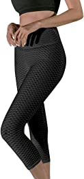 Legging Taille Haute Push Up Femme Noir Sudation M
