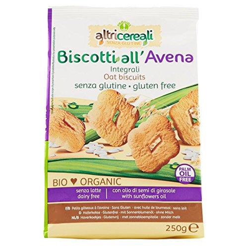 Probios Biscotti all' Avena Integrali, Senza glutine, Pack de 2