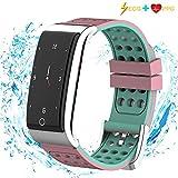 ISWIM Montre Connectée Podomètre Smartwatch Bracelet Connecté Écran Couleur...