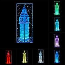 RUMOCOVO® Londen Grote Ben 3D LED Visueel Nachtlampje 7 Kleur Veranderende Home Office Slaapkamer Decoratie Tafellamp Crea...