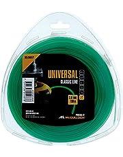 Universal nylon trimmerdraad 2.0mmx130m, NL007: reserve snaar voor gazontrimmers, lengte 130, draaddiameter 2,0 mm, scheurbestendig nylon (Art.nr. 00057-76.163.07)