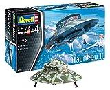 Revell 03903 Haunebu Modelmaking, Mehrfarbig, 20 cm -