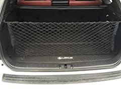 Helps restrain light objects during normal driving conditions Helps protect cargo area from spills. / Net Color : Black. Helps keep cargo area organized Easily attaches to anchors in rear cargo area Folds flat for storage when not in use
