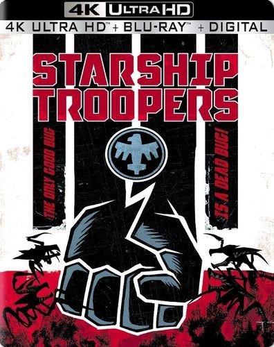 Starship Troopers 4K UHD Blu-ray Disc Exclusive Steelbook