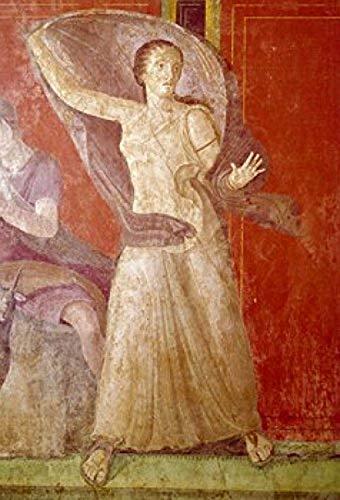 Posterazzi SAL3815395651LARGE Roman Fresco Circa.60-50 BC Italy Pompeii Villa of The Mysteries Poster Print 24 x 36 Varies