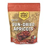 Nature's Greatest Foods, Organic Turkish Sun-Dried Apricots, Unsulphured, Resealable Bag, 6 Ounce