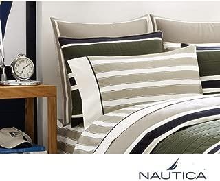 Nautica Duxberry Cotton Sateen 310 Thread Count Sheet Set TWIN