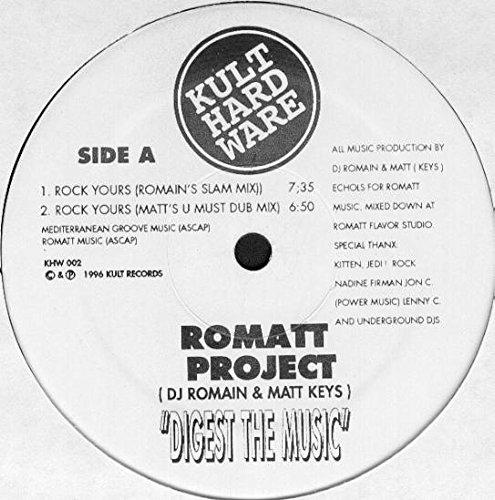 Romatt , DJ Romain & Matt Keys - Digest The Music - Kult Hardware - KHW 002