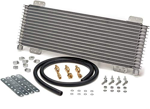 Low Pressure Drop Transmission Oil Cooler LPD47391 47391 40,000 GVW with Mounting Hardware